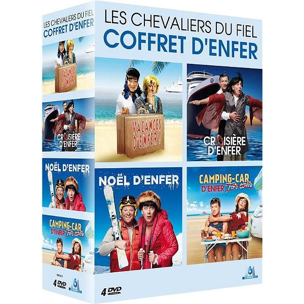Coffret Denfer Les Chevaliers Du Fiel 4 Spectacles