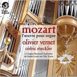 L'oeuvre pour orgue, CD Digipack