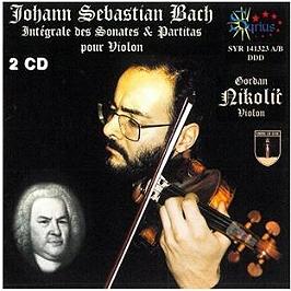 Sonates & partitas pour violon, CD
