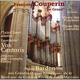 Messes des paroisses et messes des couvents, CD