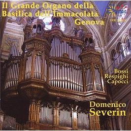 Il grande organo della basilica dell' immacolata Genova, CD