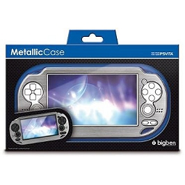 Coque en polycarbonate 'metallic case' (PS VITA)