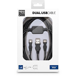 Dual USB cable pour Playstation 4 (PS4)
