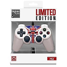 Manette filaire 'UK' vibrante pour Playstation 3 (PS3)