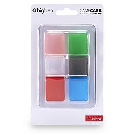 Pack de 6 boîtes de protection pour jeux Nintendo Switch (SWITCH)