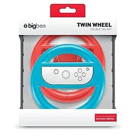 Dual wheel pour Joy-Con (rouge et bleu) (SWITCH)