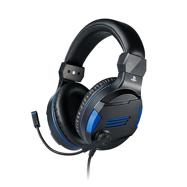 Large Gaming Headset Sony Officiel Ps4 Pour Playstation 4 Jeux