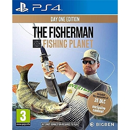 Fisher man : fishing planet (PS4)