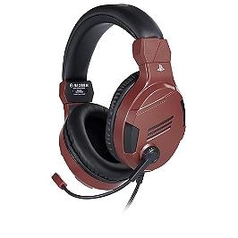 PS4 casque officiel V3 - rouge (PS4)