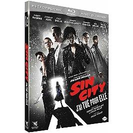 Sin city 2 : j'ai tué pour elle, Blu-ray