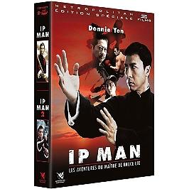 Coffret Ip Man 2 films : Ip Man, la légende du grand maître ; Ip Man 2, Dvd