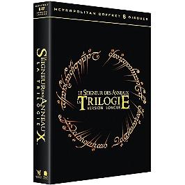 Coffret trilogie le seigneur des anneaux version longue, 3 films, Dvd