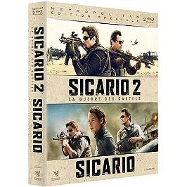 Coffret sicario 2 films : sicario : la guerre des cartels, Blu-ray