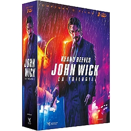 Coffret trilogie John Wick : John Wick 1 et 2 ; parabellum, Dvd