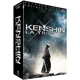 Coffret Kenshin 3 films : Kenshin le vagabond ; Kyoto inferno ; la fin de la légende, Dvd