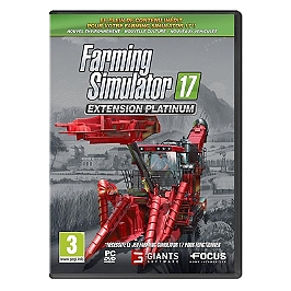 Farming simulator 17 - édition platinum (PC)