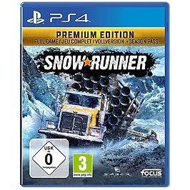 SnowRunner - premium (PS4)