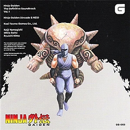 Ninja gaiden - Definitive soundtrack vol 1, CD