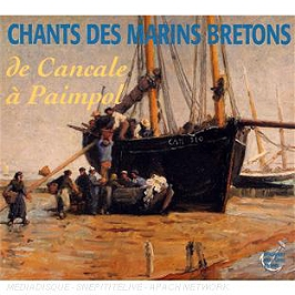 Chants des marins bretons de cancale à paimpol, CD Digipack