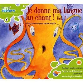 Chansons pour parler anglais : je donne ma langue au chant ! /vol.3, CD Digipack