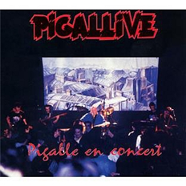Pigallive, CD Digipack