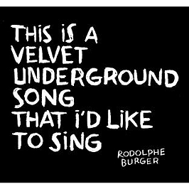 This is a velvet underground song that I'd like to sing (vinyl), Vinyle 33T