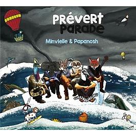 Prévert parade, CD Digipack