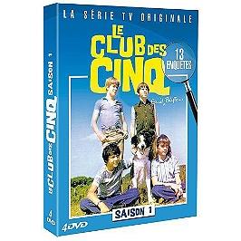 Coffret club des cinq, vol. 1, Dvd