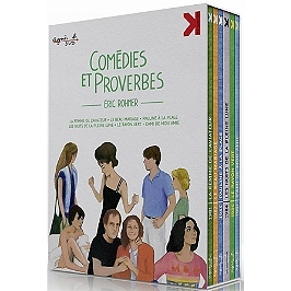 Coffret Rohmer : comédies et proverbes, Dvd