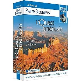 Coffret l'Ouest américain 3 documentaires : USA côte ouest et Far West, vol. 1 et 2 ; San Francisco, Dvd