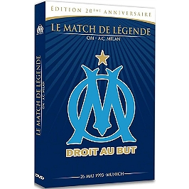 OM, le match de légende, Dvd