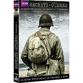 Coffret secrets de guerre, vol. 2 : la Seconde Guerre mondiale en 13 épisodes, Dvd
