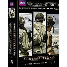 Coffret intégrale secrets de guerre, Dvd