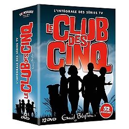 Coffret intégrale le club des cinq, Dvd
