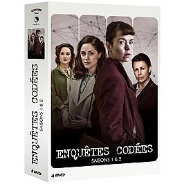 Coffret enquêtes codées, saisons 1 et 2, Dvd