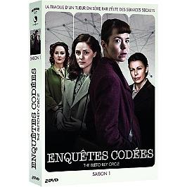 Coffret enquêtes codées, saison 1, Dvd