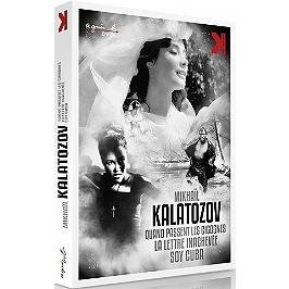Coffret Mikhail Kalatozov : quand passent les cigognes ; la lettre inachevée ; soy Cuba, Dvd
