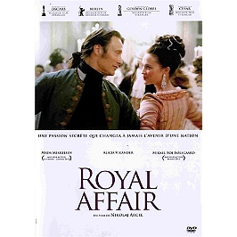 Royal affair, Dvd