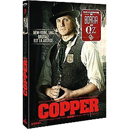 Coffret Copper, saisons 1 à 3, Dvd