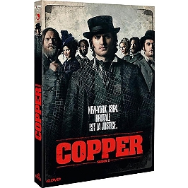 Coffret Copper, saisons 2 a 4, Dvd