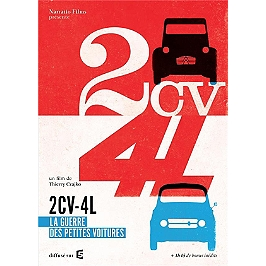 2 CV, vol. 4 : la guerre des petites voitures, Dvd