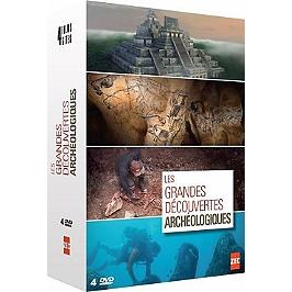 Coffret les grandes découvertes archéologiques, Dvd