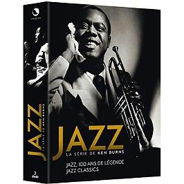 Coffret jazz, 100 ans de légende, édition deluxe, Dvd
