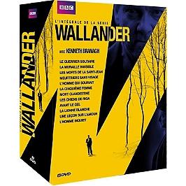 Coffret Wallander, saisons 1 à 4, Dvd