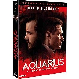 Coffret aquarius, la traque de Charles Manson, saisons 1 et 2, Dvd