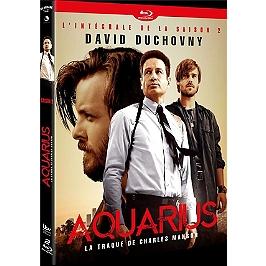 Coffret aquarius, la traque de Charles Manson, saison 2, Blu-ray