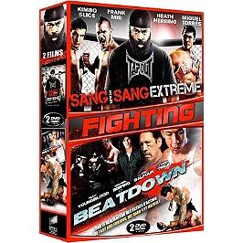 Coffret fighting 2 films : sang pour sang extrême ; beatdown, Dvd
