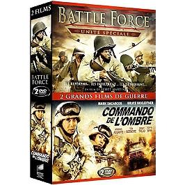 Coffret guerre 2 films : battle force ; commando de l'ombre, Dvd