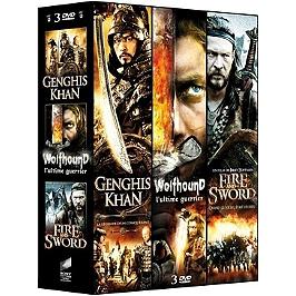 Coffret épique 3 films : Gengis Khan ; wolfhound ; fire and sword, Dvd