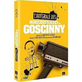 Coffret intégrale les minichroniques de Goscinny, Dvd